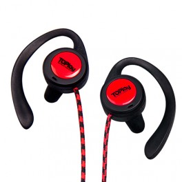 Sport & Santé Series | H132 Red | Écouteurs MP3 TOPlay